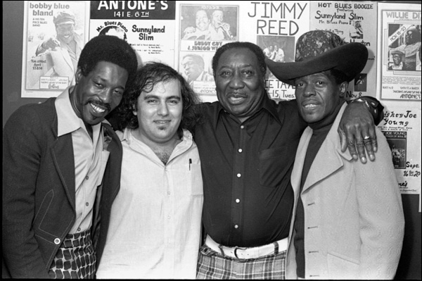 Buddy Guy, Clifford Antone, Muddy Waters & Junior Wells