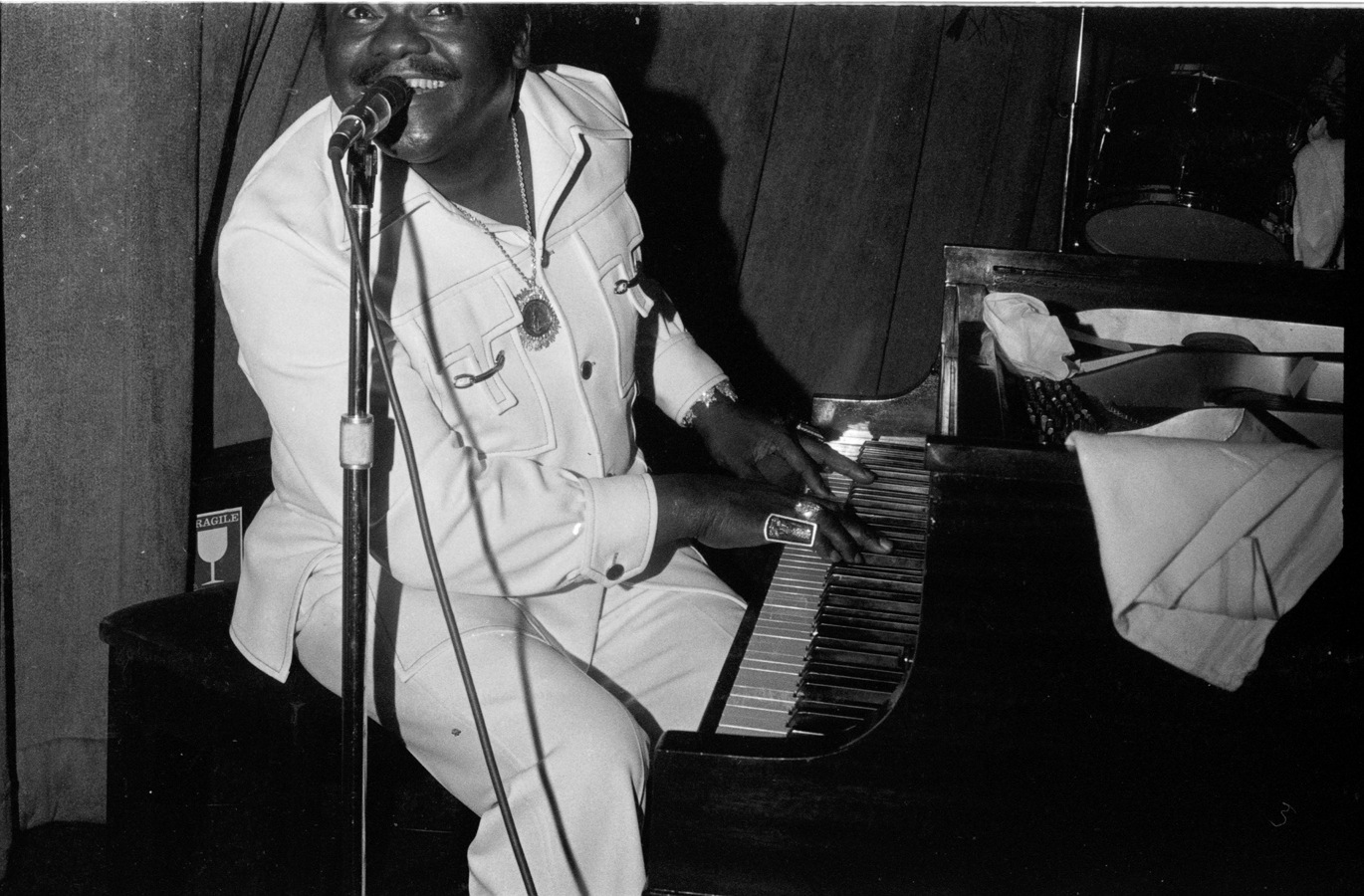 Fats Domino (Austin, TX).