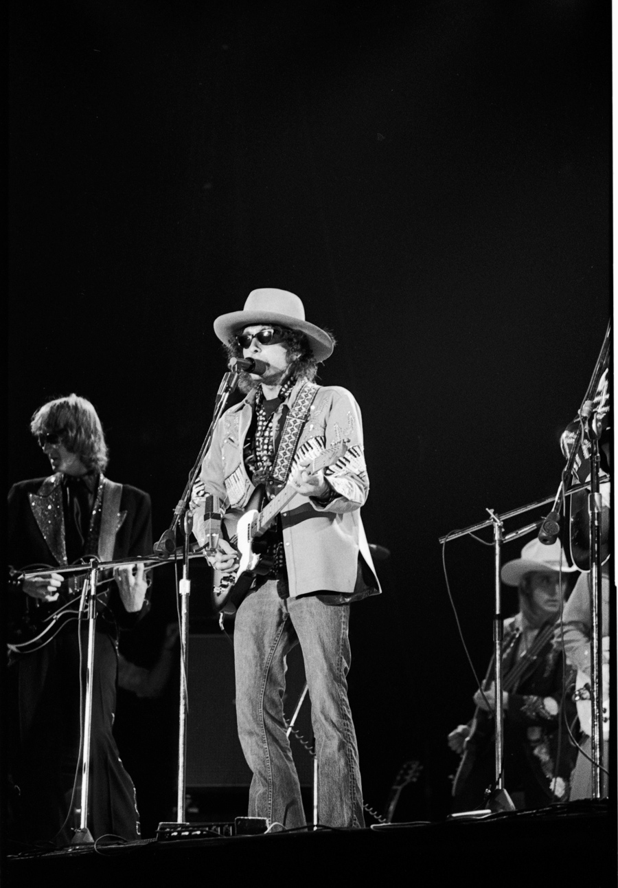 Bob Dylan - Rolling Thunder Revue Tour.